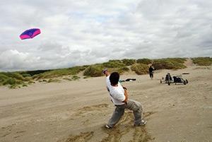 Kitebuggyen | Puur* Beachevents.nl